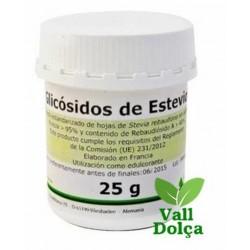 Glicósidos de Esteviol - POLVO - 25 gr