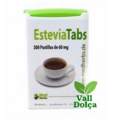 PASTILLERO DE COMPRIMIDOS EDULCORANTES STEVIA - 300 unidades